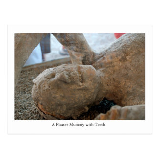Postkarte, UNESCO-Mama, Zähne Pompejis, Italien Postkarte
