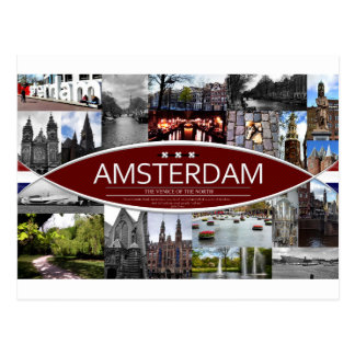 Postkarte von Amsterdam