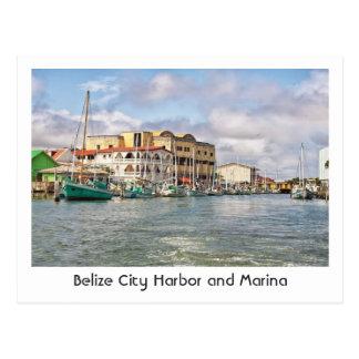 Postkarte von Belize-Stadt