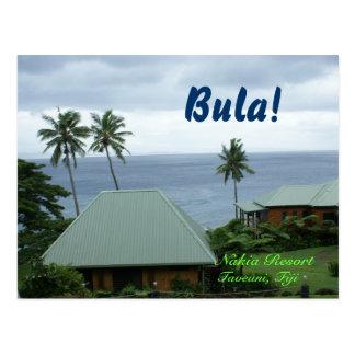 Postkarte von Fidschi