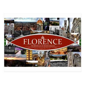 Postkarte von Florenz
