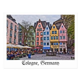 Postkarte von Köln, Deutschland