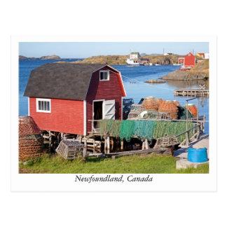 Postkarte von Neufundland, Kanada