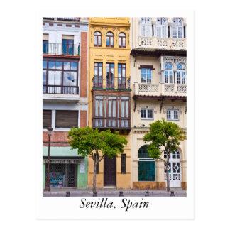 Postkarte von Sevilla, Spanien