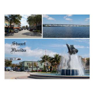 Postkarte von Stuart Florida,