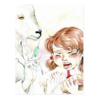 Postkarte Yan Wei