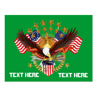 Postkarten-Amerika-Geist wird nicht 50 Farben Postkarte