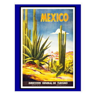 Postkarten-Mexiko-Grüße Vintag Postkarten