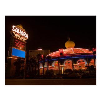 Postkarten Saharas Las Vegas