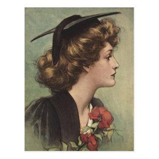 Postkarten-Vintages Abschluss ~Design für Postkarte