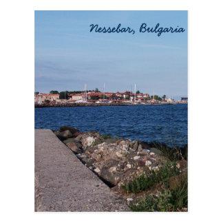 Postkartenansicht von Nessebar, Bulgarien Postkarte