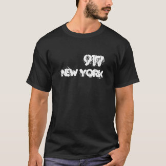 Postleitzahl New York 917 T-Shirt