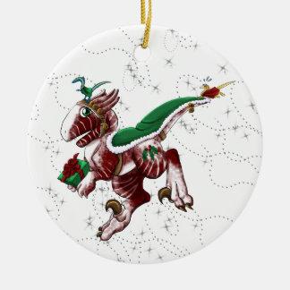 PostShivae Rundes Keramik Ornament