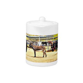 """Pot de thé de cuisine de """"quatre chevaux"""""""