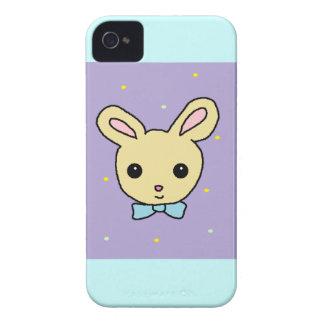 Pourpre de lapin de bébé coques iPhone 4 Case-Mate