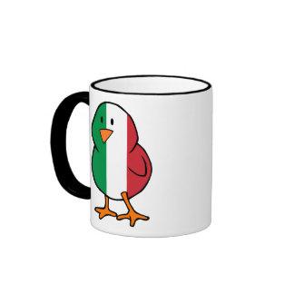 Poussin italien tasse à café