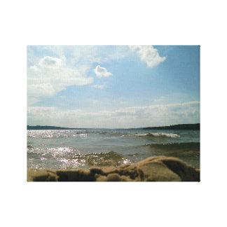 Pov-See Leinwanddruck