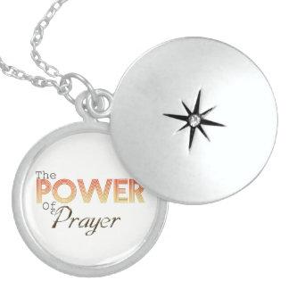 Power des Gebets Medaillon