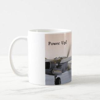 Power herauf Beleuchtung P 38 Kaffeetasse