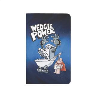 Power Kapitän-Underpants | Wedgie Taschennotizbuch