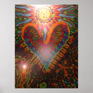 power of love 2011 digital plakatdruck