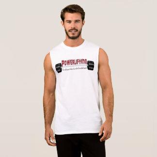 Powerlifting Sleeveless T - Shirt