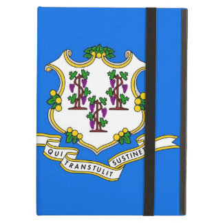Powis Ipad Fall mit Connecticut-Staats-Flagge, USA