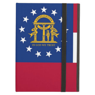 Powis Ipad Fall mit Georgia-Staats-Flagge, USA