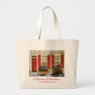 Prachtvolle Charleston-Taschen-Tasche Jumbo Stoffbeutel