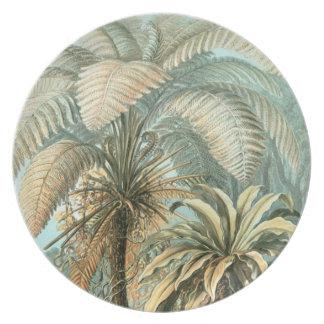 Prachtvolle Palmen Teller