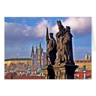 Prachtvolles Prag Grußkarte