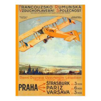 Prag ~ Franco Roumanie Postkarte