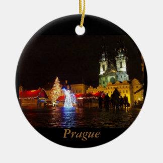 Prag-Nachts-Reise-Verzierung Keramik Ornament