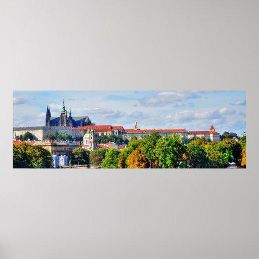 Prag-Schlosspanorama Poster