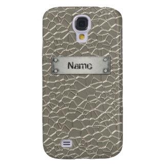Prägeartiges Aluminium Galaxy S4 Hülle