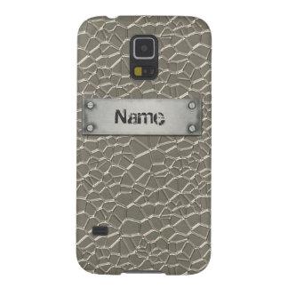 Prägeartiges Aluminium Galaxy S5 Cover