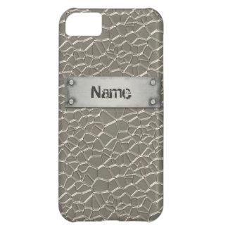 Prägeartiges Aluminium iPhone 5C Hülle