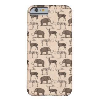 Prähistorische Säugetiere Megaceros und wolliges Barely There iPhone 6 Hülle