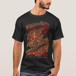 Prähistorische Steincarvings von Newgrange, Irland T-Shirt