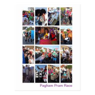 Pram-Rennen Postkarte