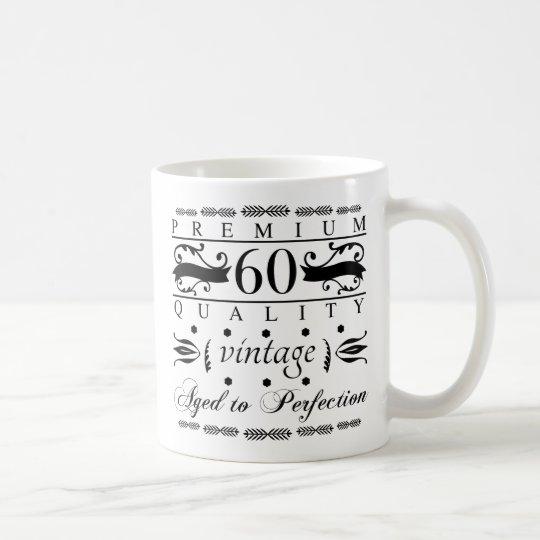 Prämien-60. Geburtstag Tasse