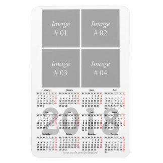 Prämien-Magnet Kalender der Schablone 2018 Magnet