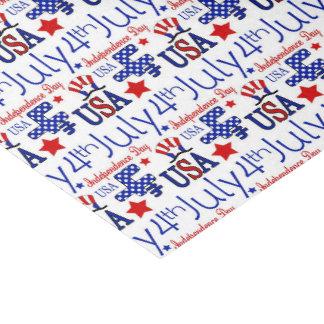 Prarty Gewebe patriotischen Musters Julis vierter Seidenpapier