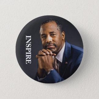 Präsident 2016 Ben-Carson INSPIRIEREN Runder Button 5,7 Cm
