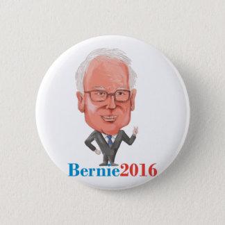 Präsident 2016 Bernie-Demokrat Caricature Runder Button 5,7 Cm