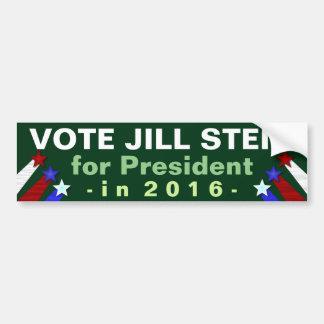 Präsident 2016 Jill-Stein Election Green Party Autoaufkleber