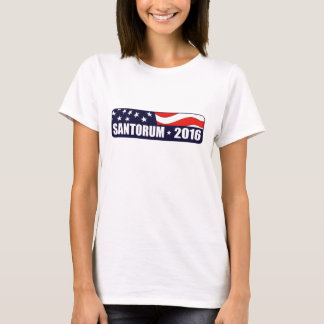 Präsident 2016 Rick-Santorum T-Shirt