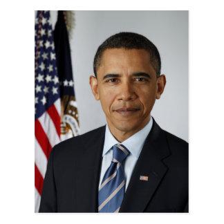 Präsident Barack Obama im Jahre 2009 Postkarte