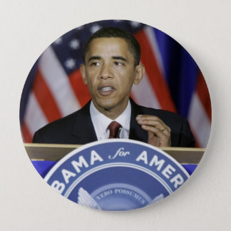 Präsident Barack Obama Runder Button 10,2 Cm