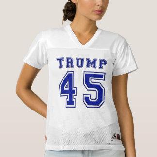Präsident Blue Football Jersey Donald- Trump45.